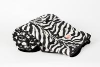 Kuscheldecke Zebra